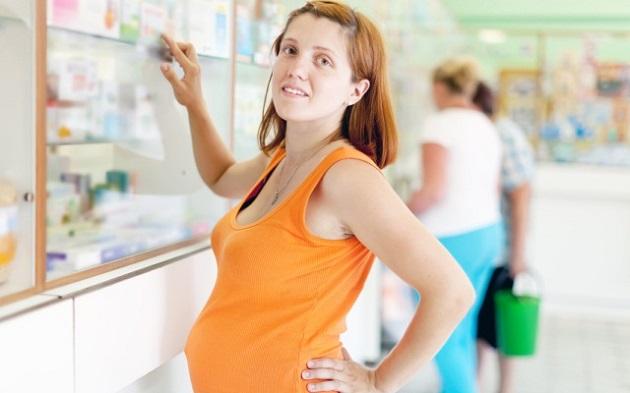 Беременная в аптеке