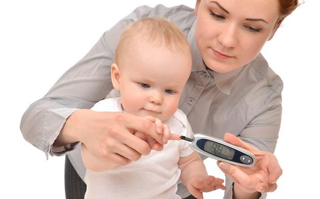 Измерение уровня глюкозы у детей