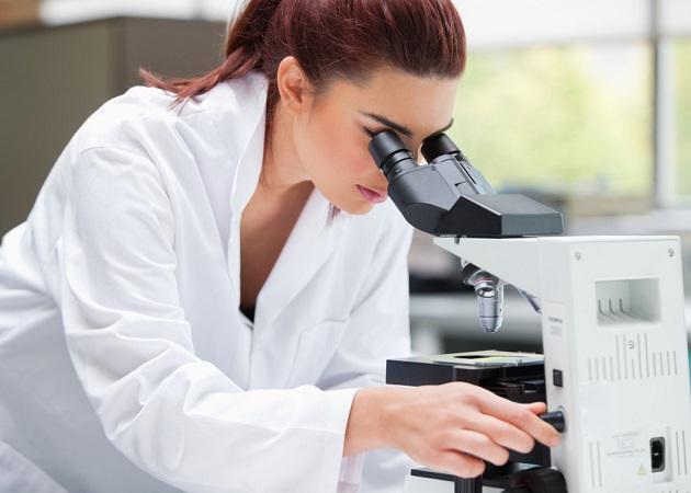 Исследование через микроскоп