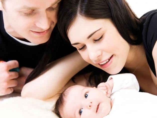 Семья из трех человек